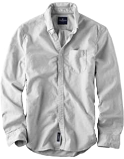 a5f820b3 American Eagle Men's Seriously Soft Button Down Print Shirt at ...