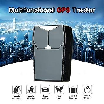 Rastreador GPS, localizador espía niños dispositivo auto coche mascotas niños rastreador tiempo real GPS impermeable