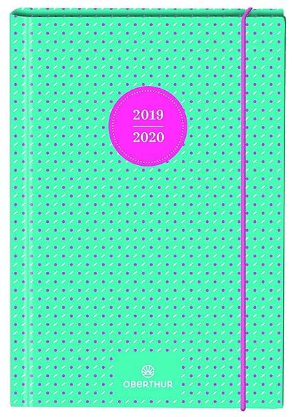 Calendario Settembre2020.Oberthur 1 Agenda Giornaliera Neon Da Settembre 2019 A