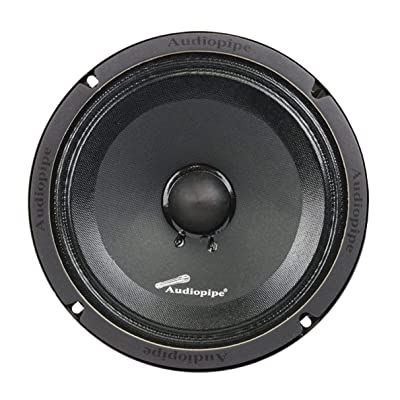 "Audiopipe APMB-8SB-C 8"" 250 Watts Max Power Midrange Speaker - Sold Each"