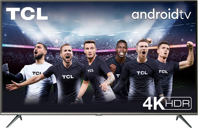 TCL 43EP640, Televisor 108 cm (43 pulgadas), Smart TV con Resolución 4K, HDR10, Micro Dimming Pro, Android TV, Alexa, Google Assistant, Multicolor [Clase de eficiencia energética A]: Amazon.es: Electrónica
