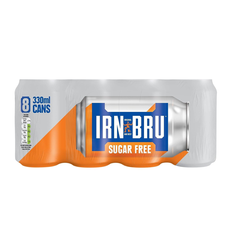 Amazon sugar free grocery irn bru sugar free 8 x 330ml cans negle Images