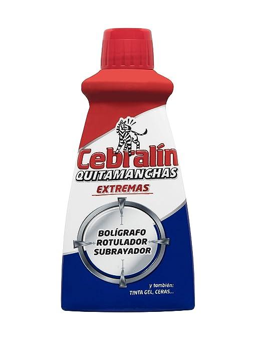 Cebralín - Quitamanchas Extremas de Tintas en Textiles, Lote de 6 x 70 ml -