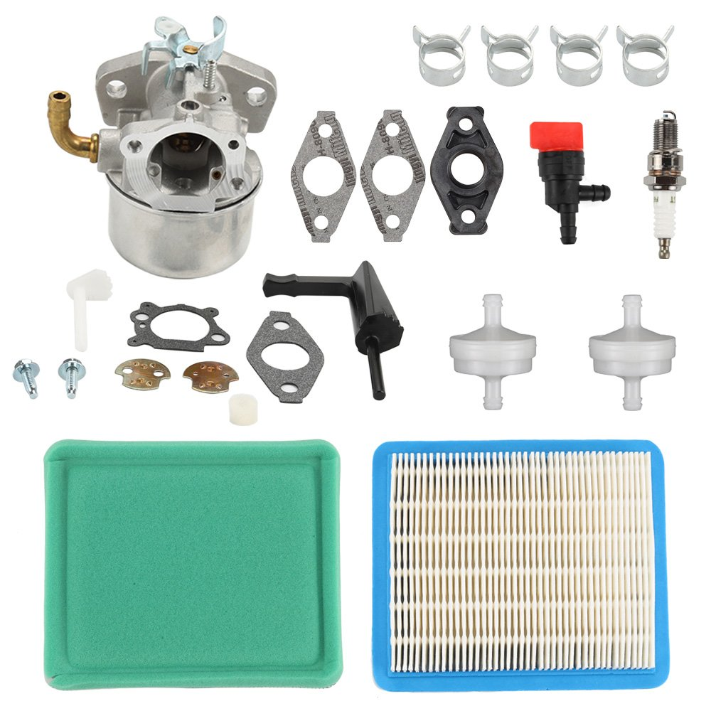 Harbot 798653 Carburetor Tune Up Kit for Briggs & Stratton 110432 110492 110412 111432 120202 120212 121212 121232 Engine