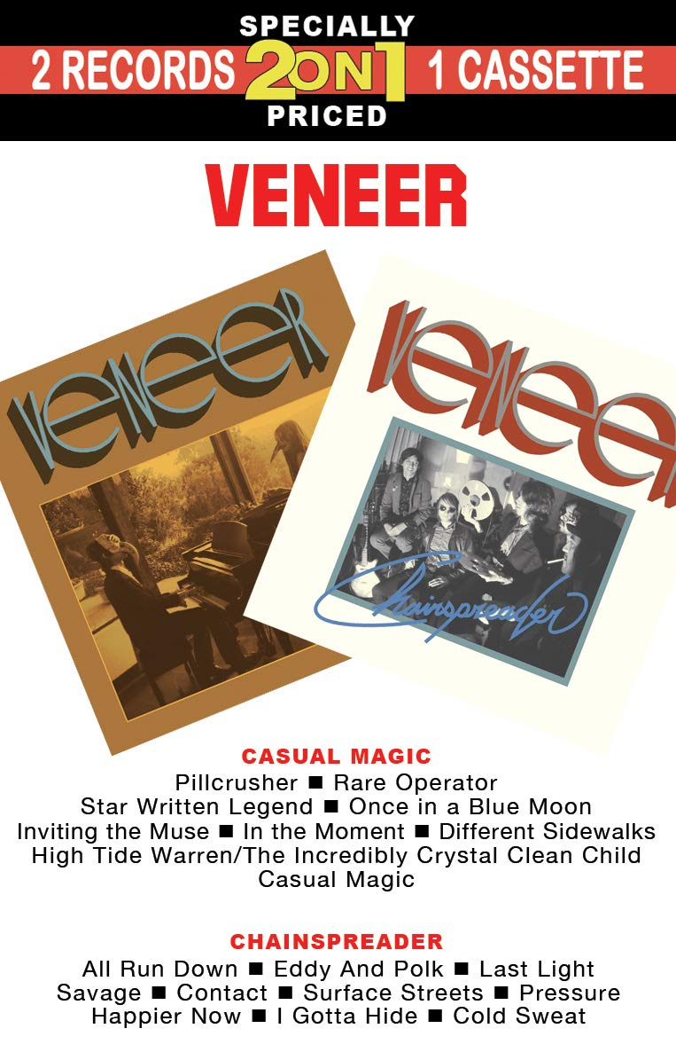 Cassette : Veneer - Casual Magic /  Chainspreader (Cassette)