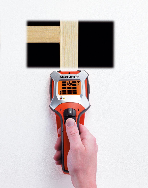 Black+Decker BDS303-XJ - Detector 3 en 1 metal, estructuras y cables con calibrado automático y pantalla LCD: Amazon.es: Bricolaje y herramientas
