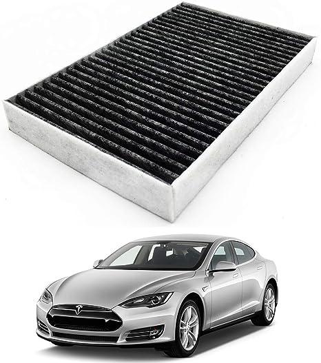 Amazon.com: JOJOMARK Tesla - Filtro de aire de cabina con ...
