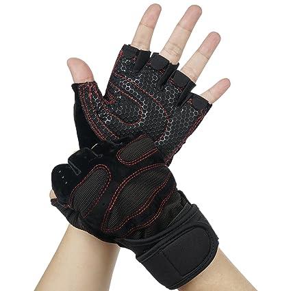 BOILDEG Fitness Handschuhe,Trainingshandschuhe,Gewichtheben Handschuhe für Body