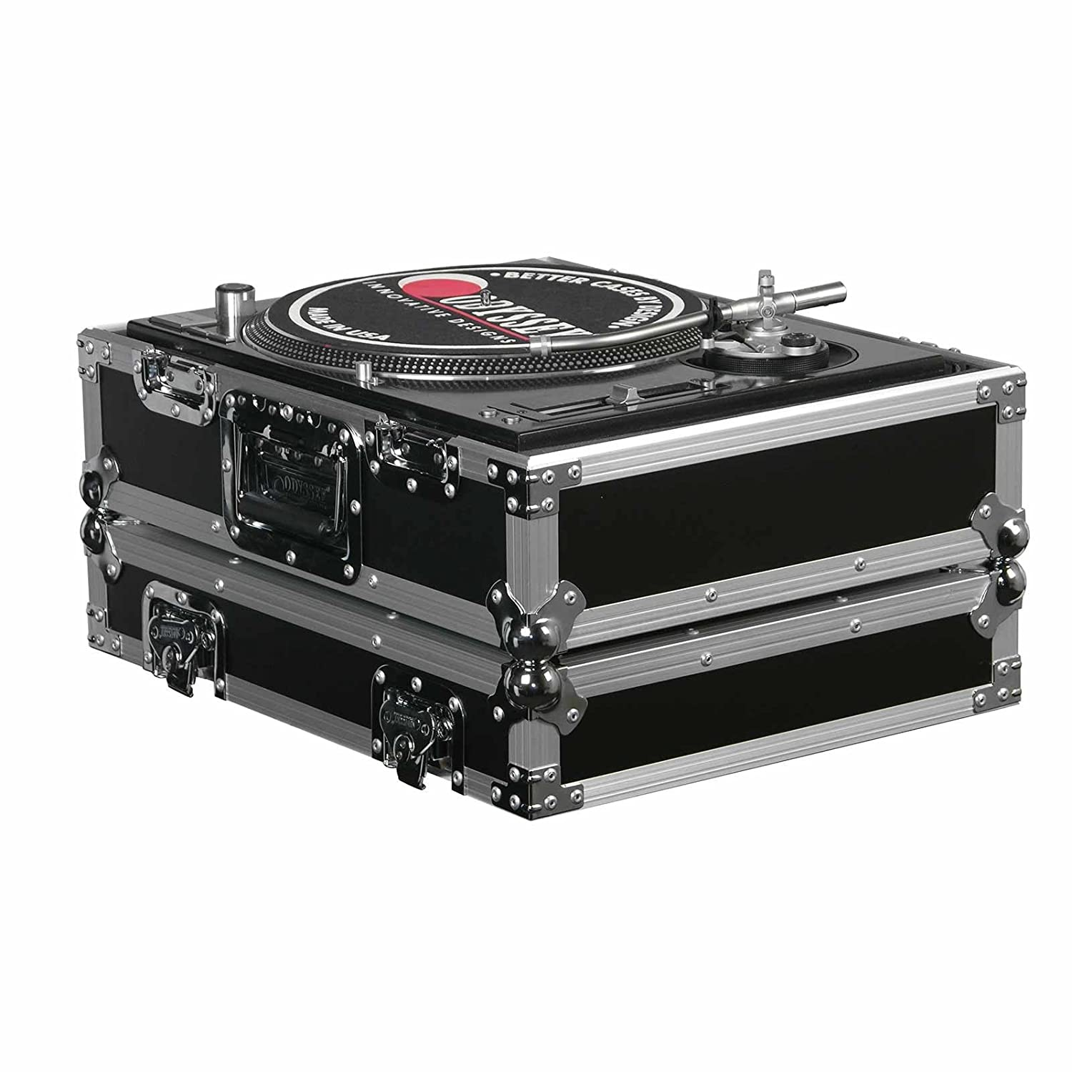 (2) Odyssey FR1200E ATA Flight Ready Pro DJ Equipment Turntable Transport Cases 2 x FR1200E