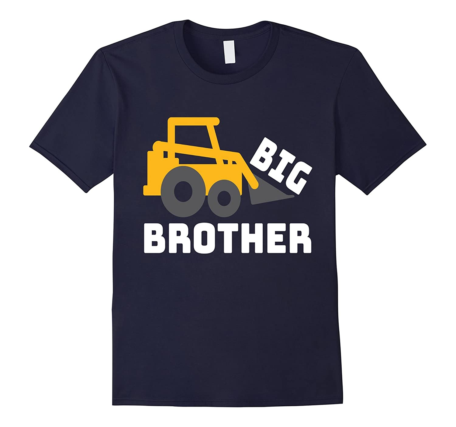 Big Brother Construction Dozer Tractor T-Shirt Gift Buddy-CL