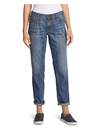 eb675ac8b4a Eddie Bauer Women s Boyfriend Jeans at Amazon Women s Jeans store