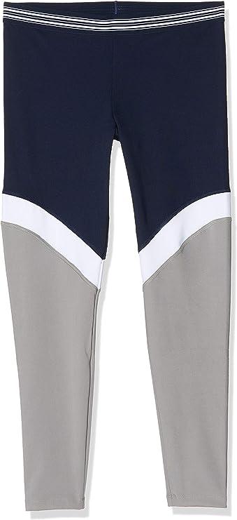 Activewear Gym Leggings Women, Blue (Navy/white/mid Grey), 10 (Manufacturer size: Small),Activewear,BAL-001