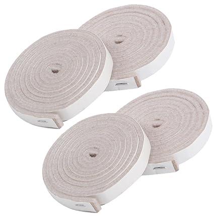 simala Premium muebles almohadillas – 4 x Heavy Duty rollo de tira de adhesivo de fieltro