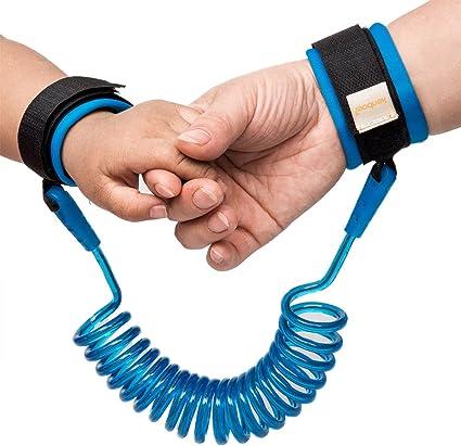 Arnés de seguridad Walk Niño anti pérdida de mano Cinturón Elástico Cable Niños Bebé