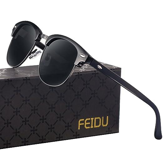 b74d75c3fcc6 Polarized Mens Sunglasses for Men - FEIDU Polarized Sunglasses Mens  Sunglasses FD 3030 (ALL
