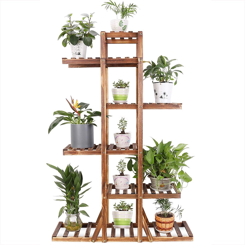 Garden MultiTier Wood Plant Stand Outdoor Indoor Flower Pot Rack Display Shelf