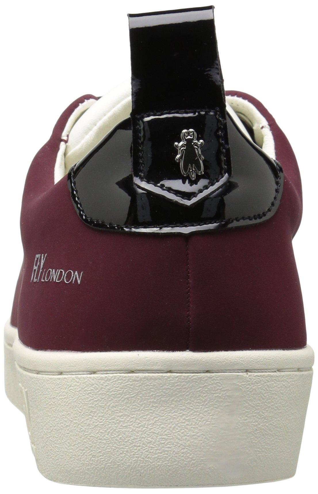 FLY London Women's MACO833FLY Sneaker, Bordeaux/Black Nubuck/Patent, 37 M EU (6.5-7 US) by FLY London (Image #2)
