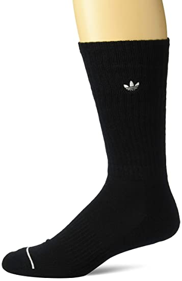 50fdf2e2b8b8d Amazon.com: adidas Men's Originals Iconic Patch Crew Socks (1-Pack ...