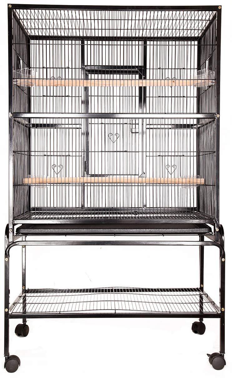 Flight Bird Cage Detachable Stand 53.5  x 32.5  x 19