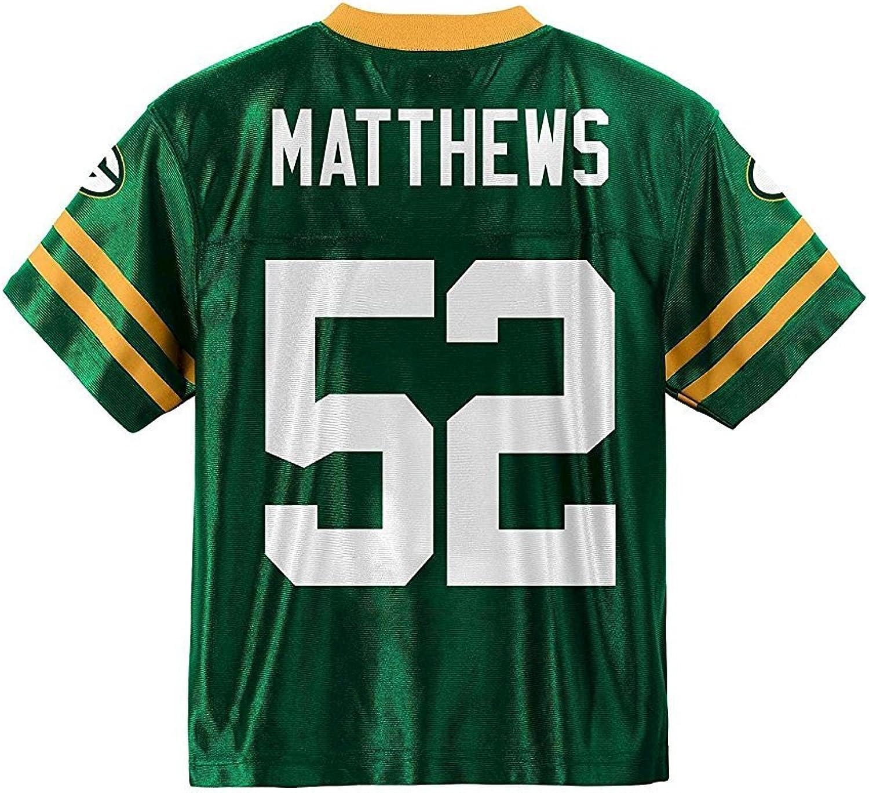 Clay Matthews Green Bay Packers Green Home Player Jersey Kids
