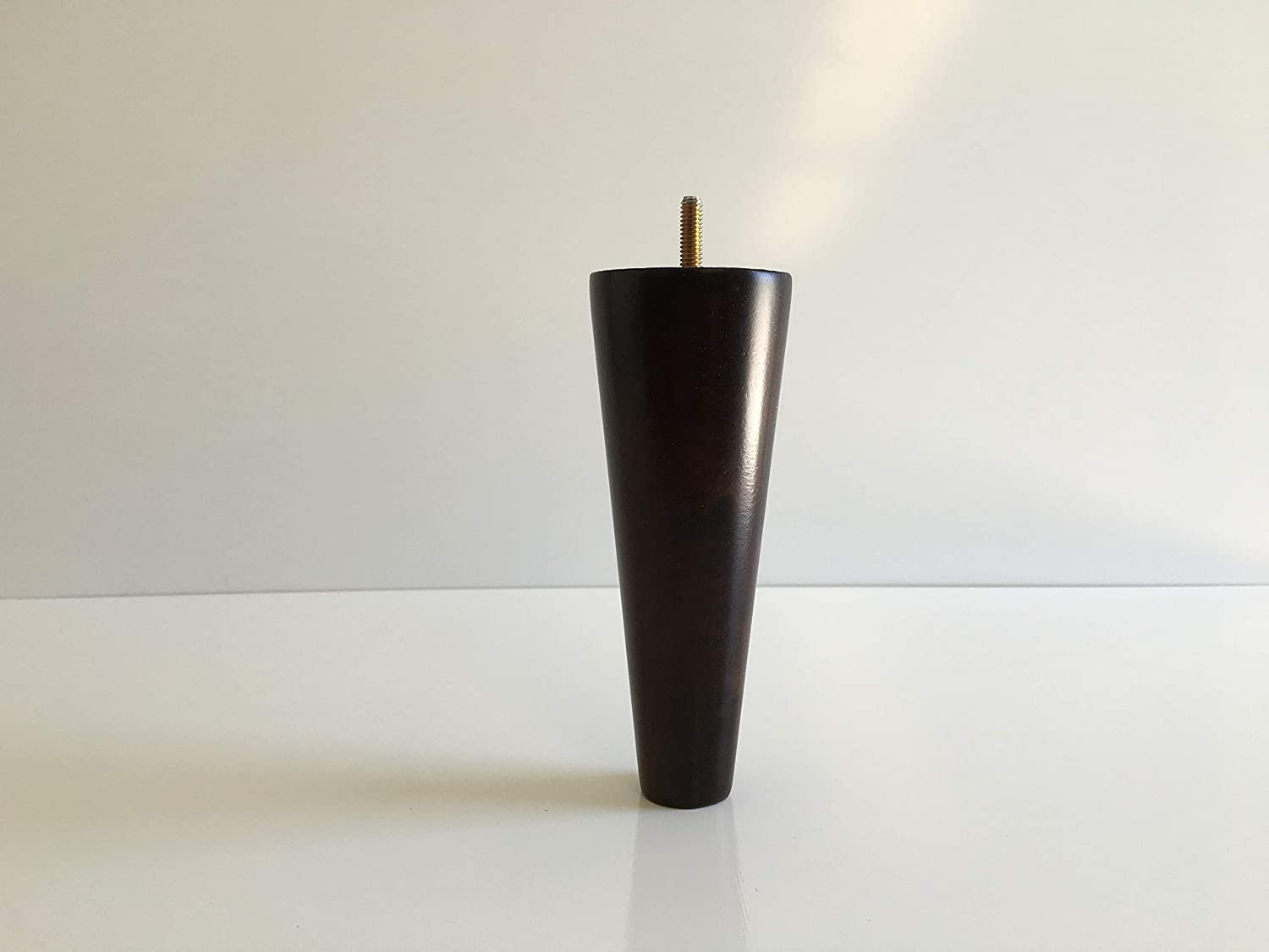 """7"""" Tall Furniture Leg Tapered Cone Feet (Set of 4)"""