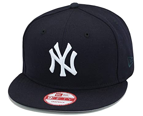Image Unavailable. Image not available for. Color  New Era 9fifty New York  Yankees Snapback Hat Cap Navy White 917189f0bc95