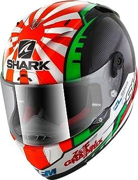 Amazon.es: SHARK NC Casco per Moto, Hombre, Negro/Rojo, M