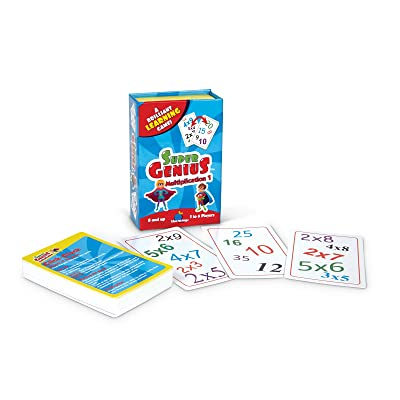 Blue Orange Super Genius - Multiplication 1: Toys & Games