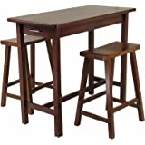 Winsome Wood Harrington 3 Piece Drop Leaf High Table 2 29
