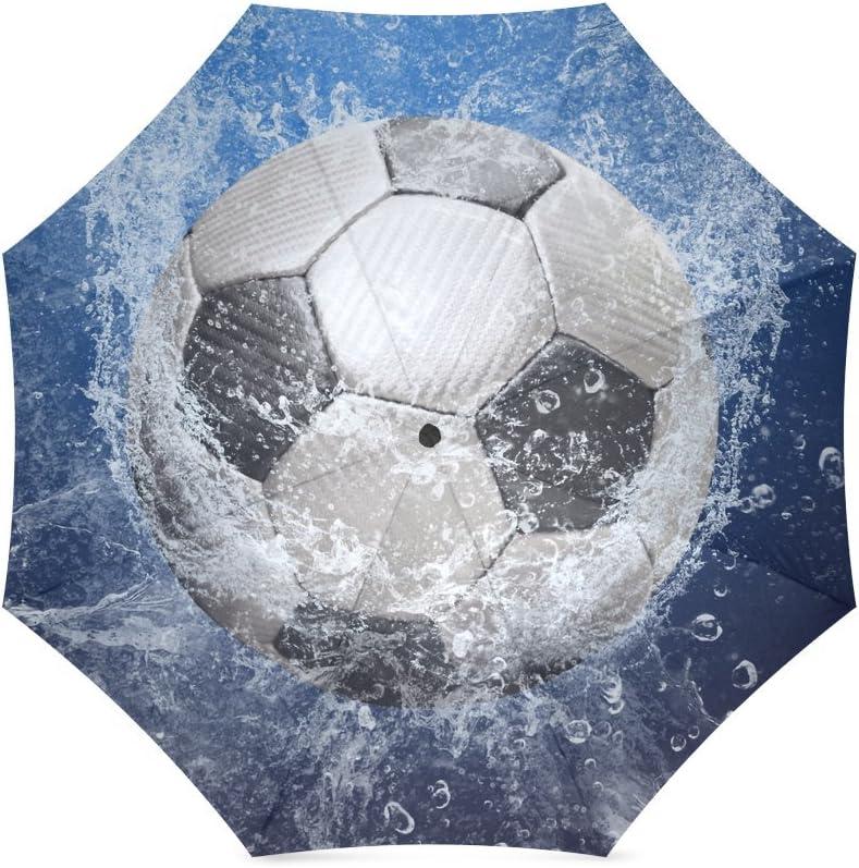 Fútbol balón de fútbol plegable paraguas con antideslizante agarre ...
