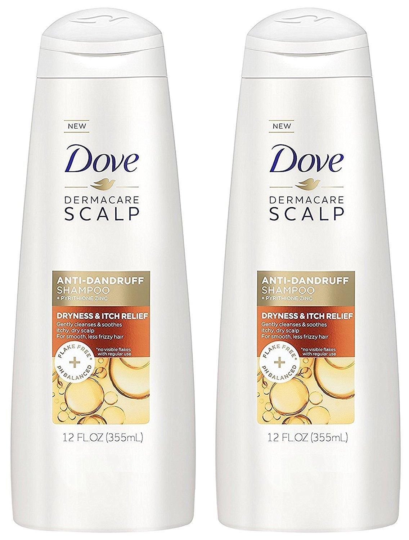Dove Derma Care Scalp Anti-Dandruff Shampoo And Conditioner Set For Dryness & Itch Releif