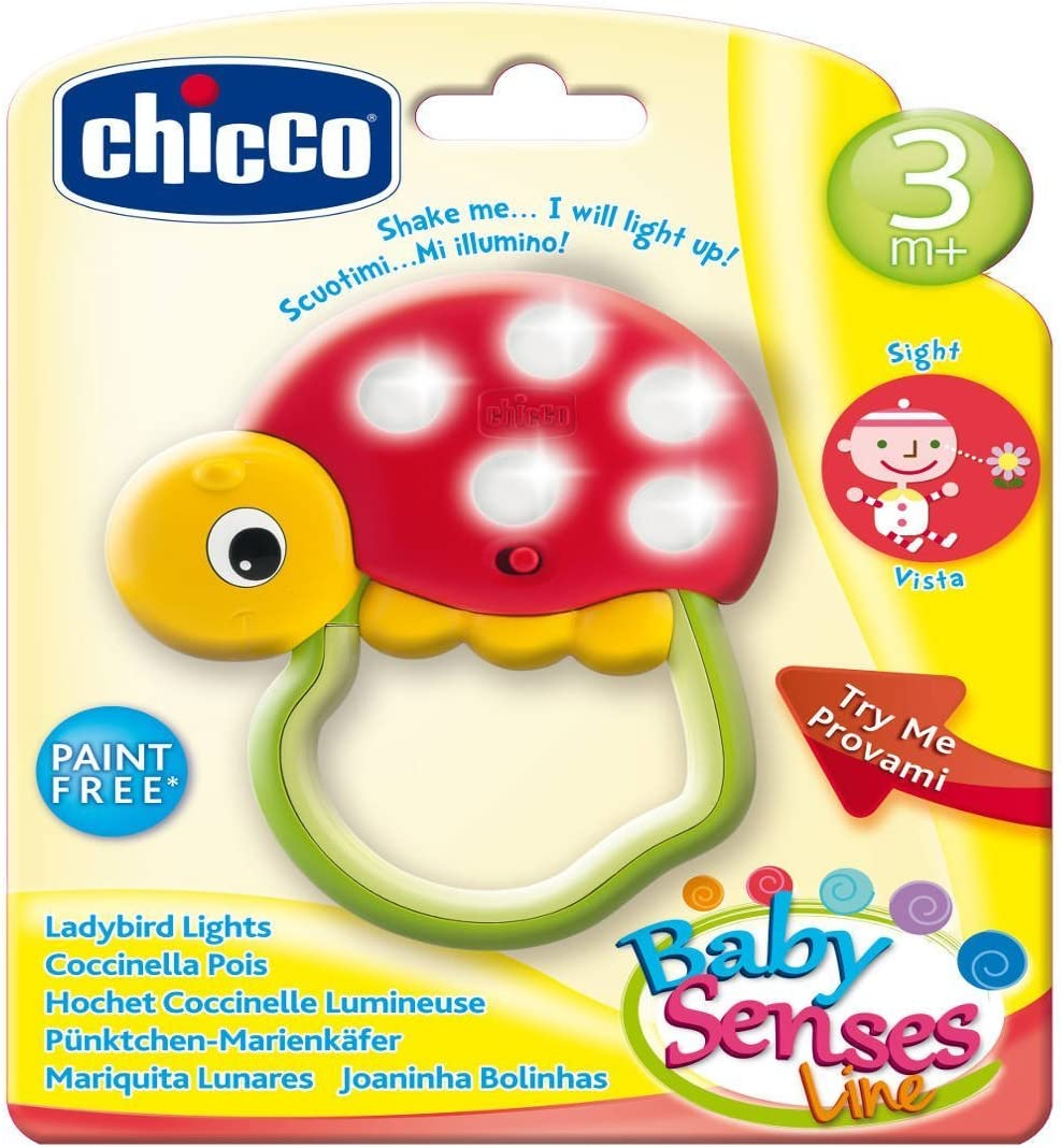 Chicco Hochet Coccinelle Lumineuse Baby Senses