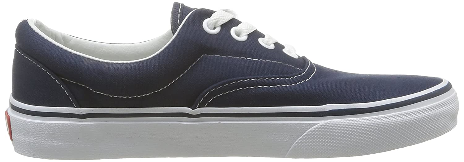 Vans Unisex Era Skate Shoes, Classic Low-Top Lace-up Style in Durable Double-Stitched Canvas and Original Waffle Outsole B001CEQNH2 11 B(M) US Women / 9.5 D(M) US Men |Navy