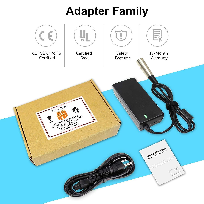 Amazon.com: Techeeer - Cargador de batería para scooter ...