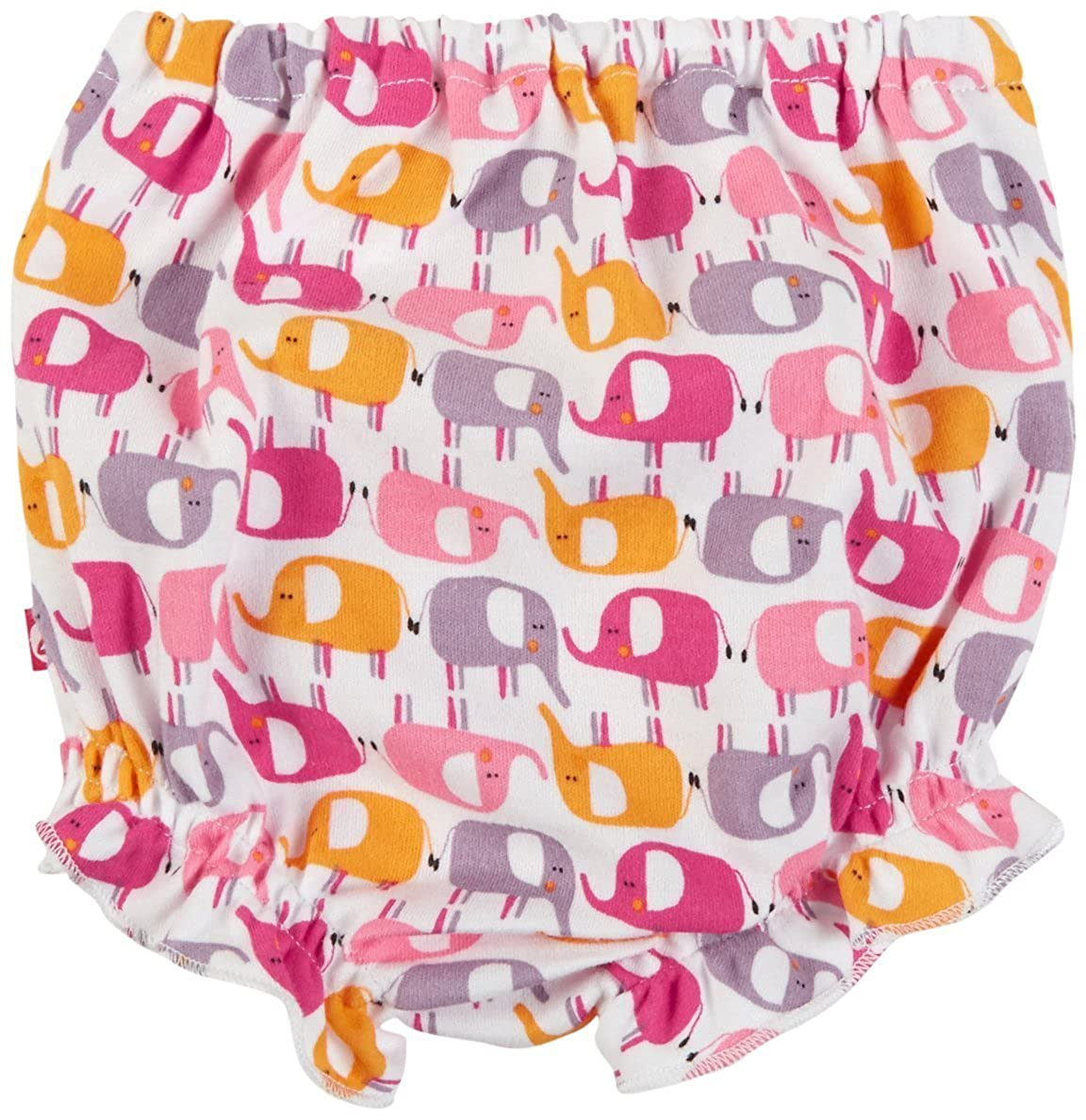 Zutano Baby Girls Ellas Elephants Bloomer