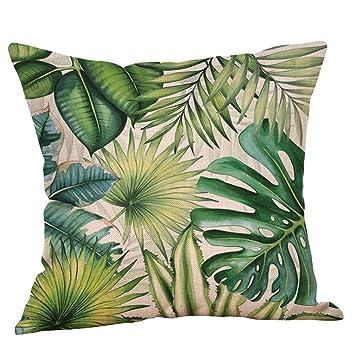 VJGOAL Hojas de Plantas Tropicales de impresión cómoda ...