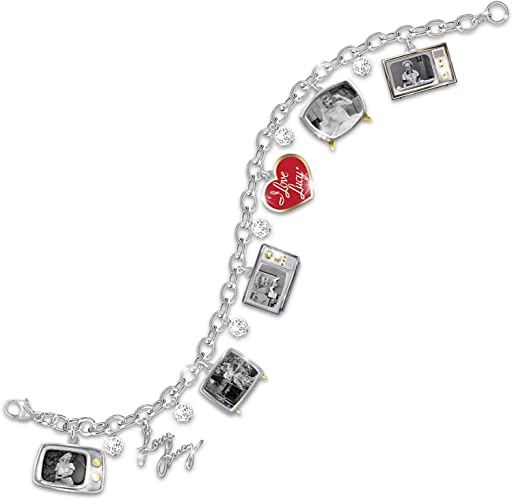 """Oro Blanco encanto nombre /""""Lucy/"""" pulsera de cuero Cumpleaños Regalos De Navidad Para Su"""