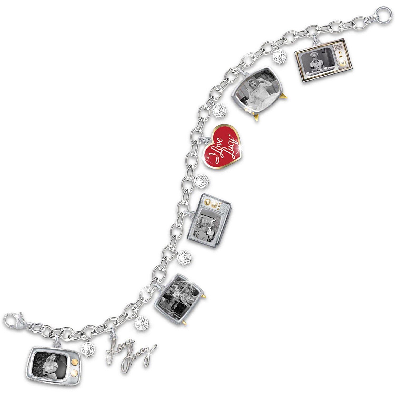 I LOVE LUCY Charm Bracelet by The Bradford Exchange