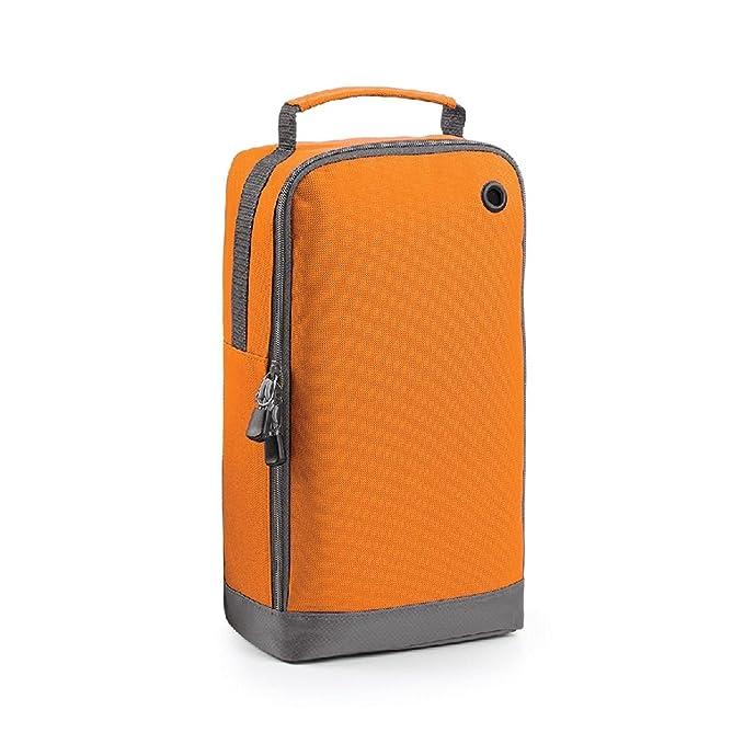 231633eb58 Borsa Porta Scarpe da Viaggio Palestra Sacca capacità 8 Litri Bagbase  BG540, Colore: Arancione, Taglia: Unica: Amazon.it: Abbigliamento