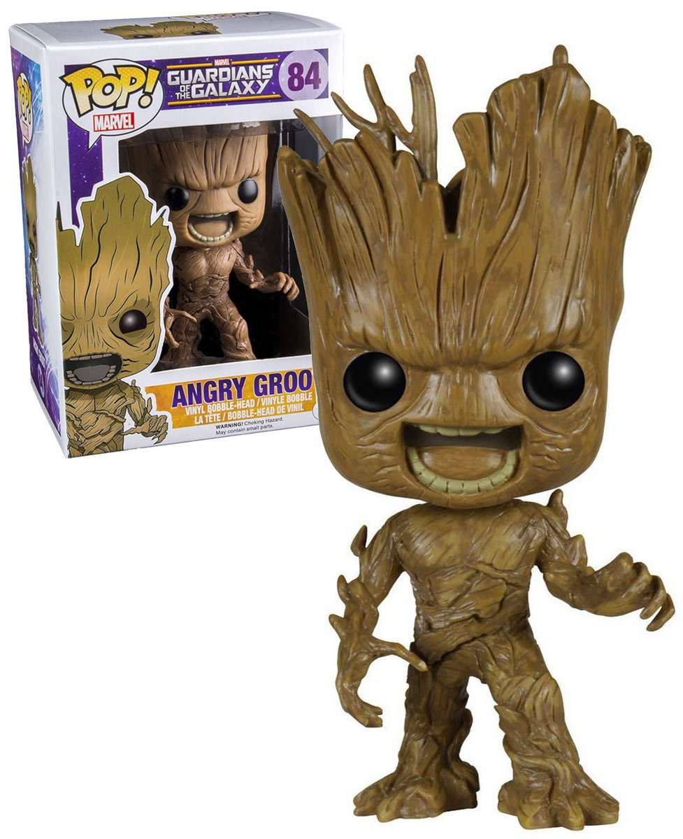 Funko Pop Guardians of the Galaxy Angry Groot Vinyl Bobblehead Figure