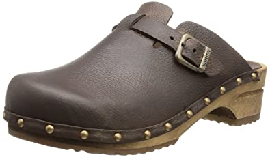Hartwig open, Herren Clogs, Braun (antique brown 78), 41 EU Sanita