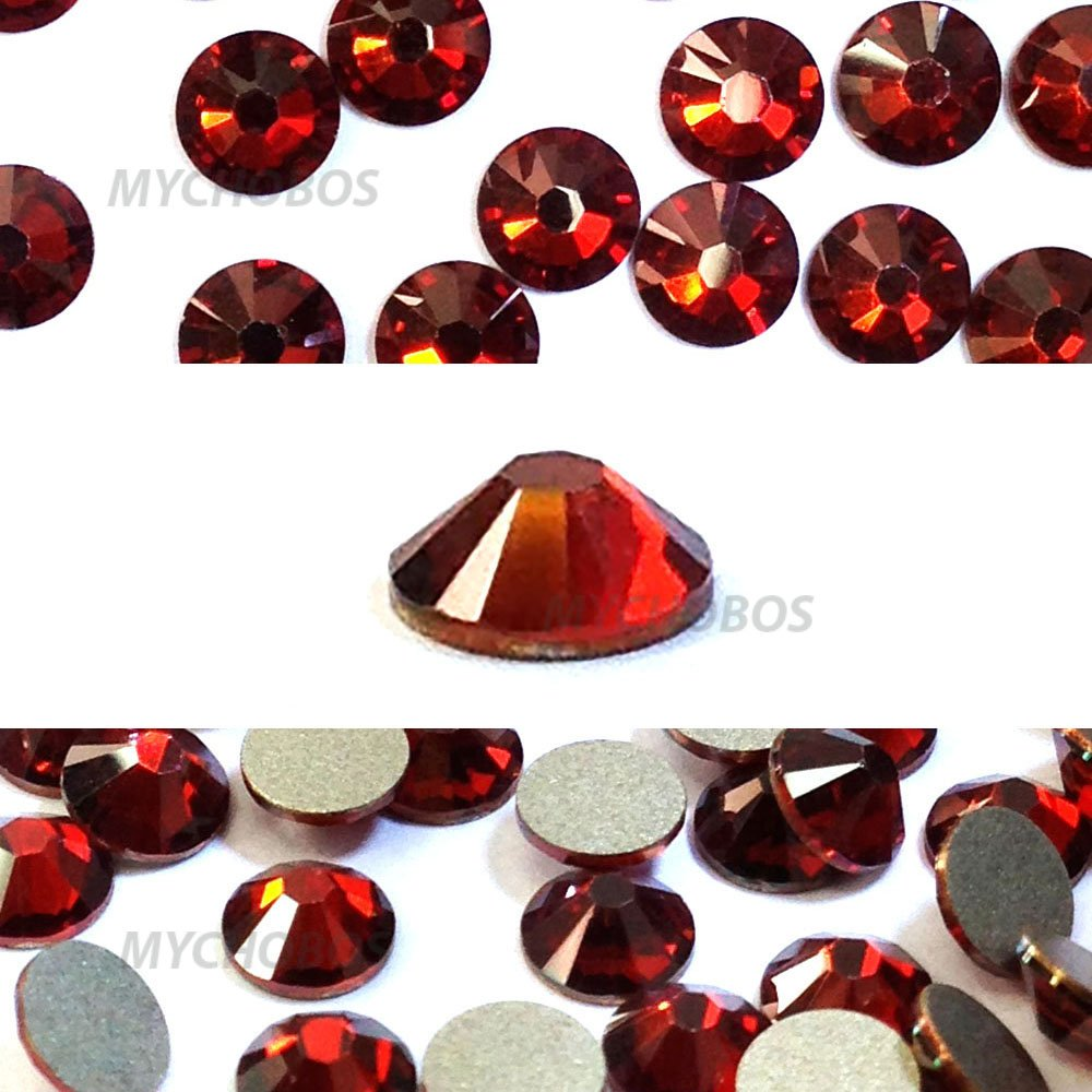 94f104c58 1,440 pcs Crystal Red Magma (001 REDM) Swarovski 2058 Xilion / NEW 2088  Xirius 16ss Flat backs Rhinestones 4mm ss16: Amazon.ca: Home & Kitchen