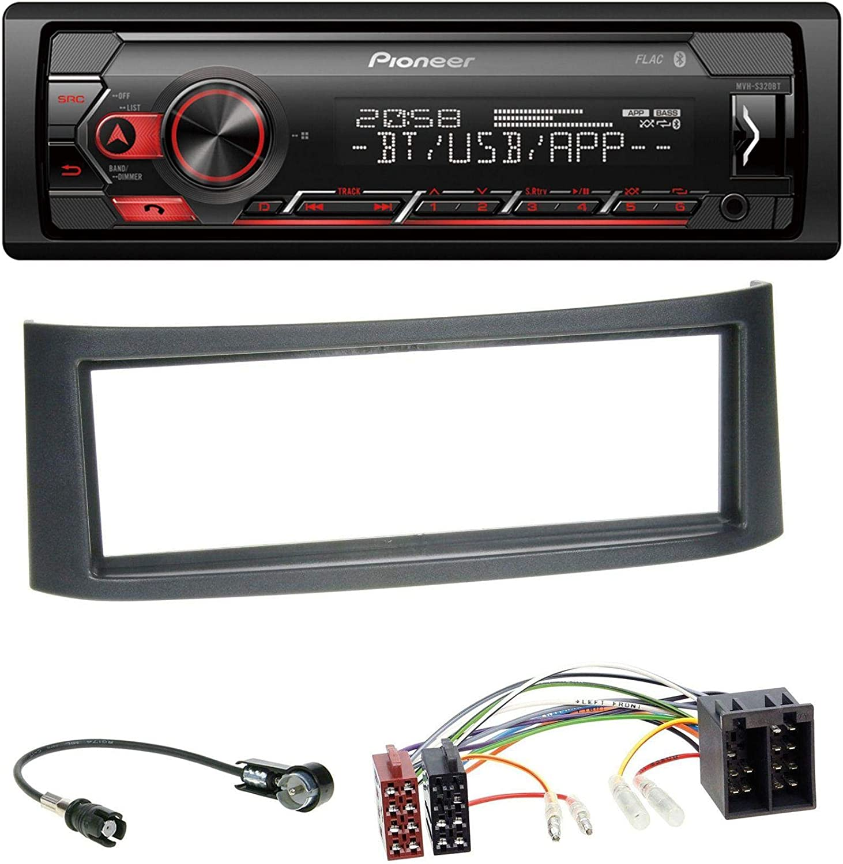 452 caraudio24 Pioneer MVH-S310BT Bluetooth AUX MP3 USB Autoradio ...