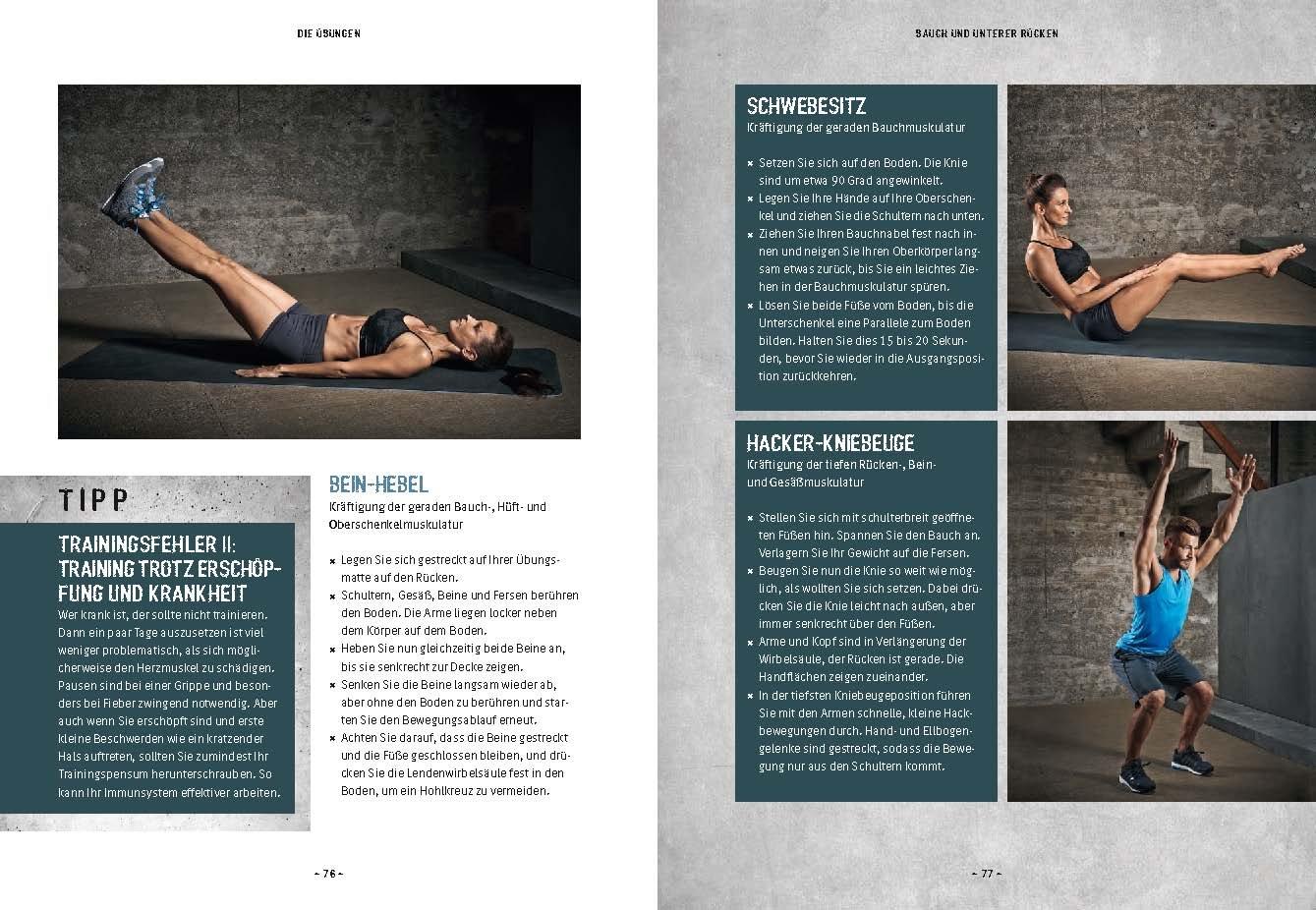 Das Muskel-Workout: Über 100 hocheffiziente Übungen ohne Geräte ...