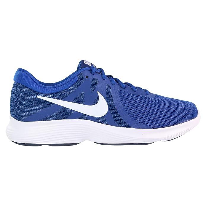 Nike Revolution 4 Herren blau mit weißem Streifen (Indigo Force/White/Blue Void)
