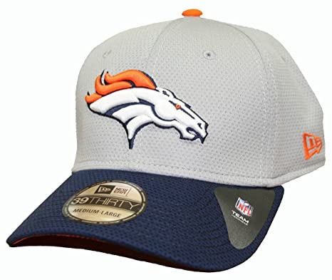 Image Unavailable. Image not available for. Color  Denver Broncos New Era  NFL 39THIRTY Performance Gray Flex Fit Hat ed37613c2