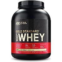 Optimum Nutrition ON Gold Standard Whey proteïnepoeder, eiwitpoeder voor spieropbouw, natuurlijk opgenomen BCAA en…