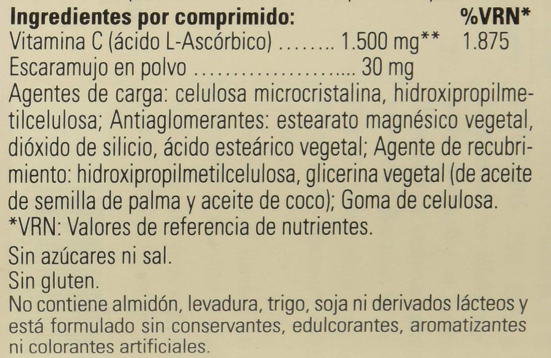 Solgar Vitamina C con escaramujo 1500 mg (1,5 gramos) Comprimidos - Envase de 180: Amazon.es: Salud y cuidado personal