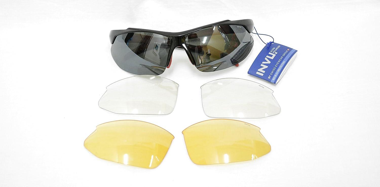 INVU Gafas de Sol polarizadas 2509 C Azul Oscuro Lima Lentes Intercambiables 100% UV Block Sunglasses Polarized: Amazon.es: Deportes y aire libre