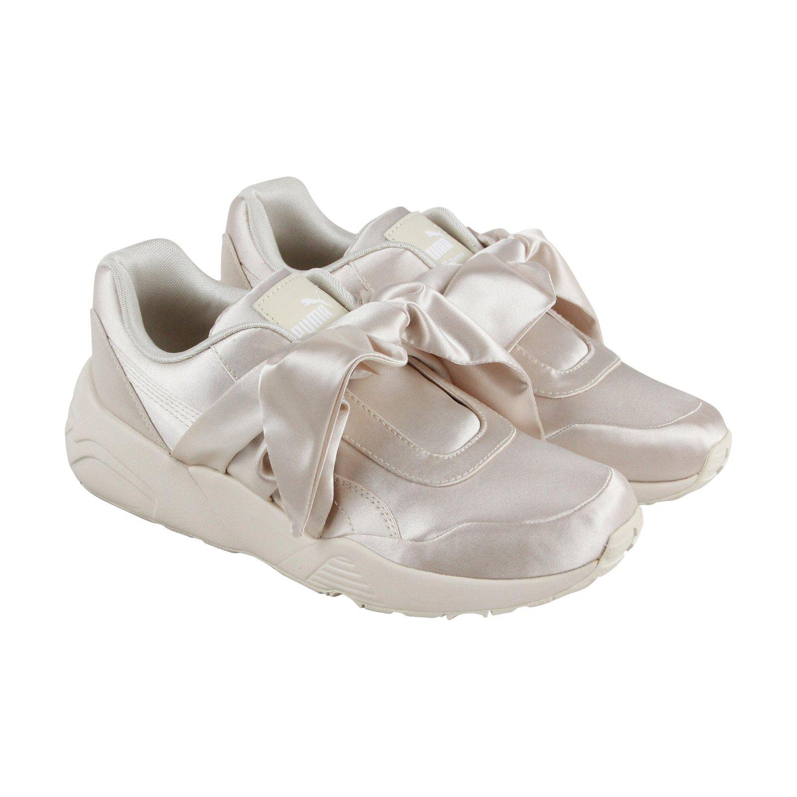 8beba9887c6e Galleon - PUMA Womens Fenty By Rihanna RiRi Pink Bow Sneaker 36505402  Sneakers Shoes 9.5